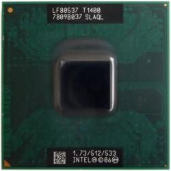 Мобильный процессор Intel Celeron Dual-Core T1400 (SLAQL)