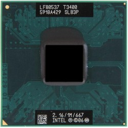 Мобильный процессор Intel Pentium Dual-Core T3400 (SLB3P)