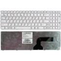 Клавиатура для ноутбука Asus N53 N52 N50 N60 N61 белая