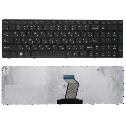 Клавиатура для ноутбука Lenovo G570 G575 V570 Z570