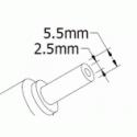 Блок питания для ноутбука Asus 19V 3.42A (5.5x2.5) 65W